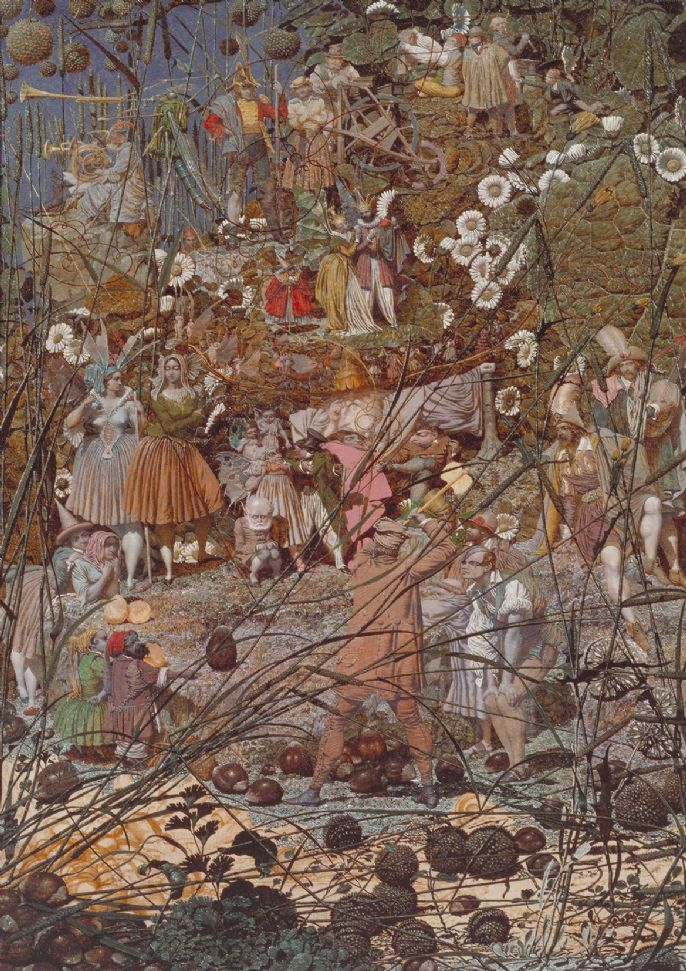 Dadd, Richard: The Fairy Feller's Master Stroke. Fine Art Print/Poster. Sizes: A4/A3/A2/A1 (001266)