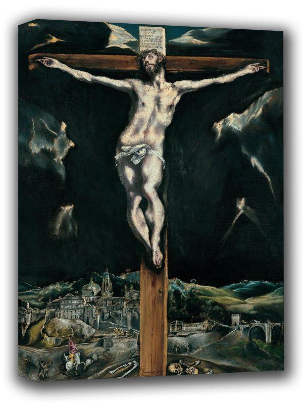 1604 Art Canvas//Poster Print A3//A2//A1 View of Toledo El Greco