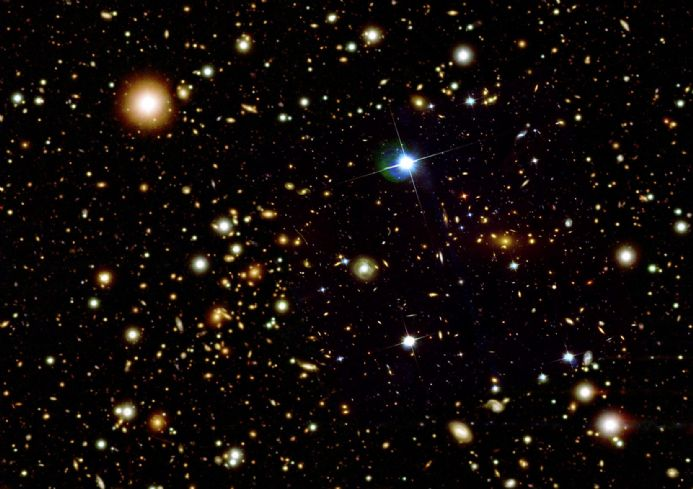Hubble Telescope space Poster Print